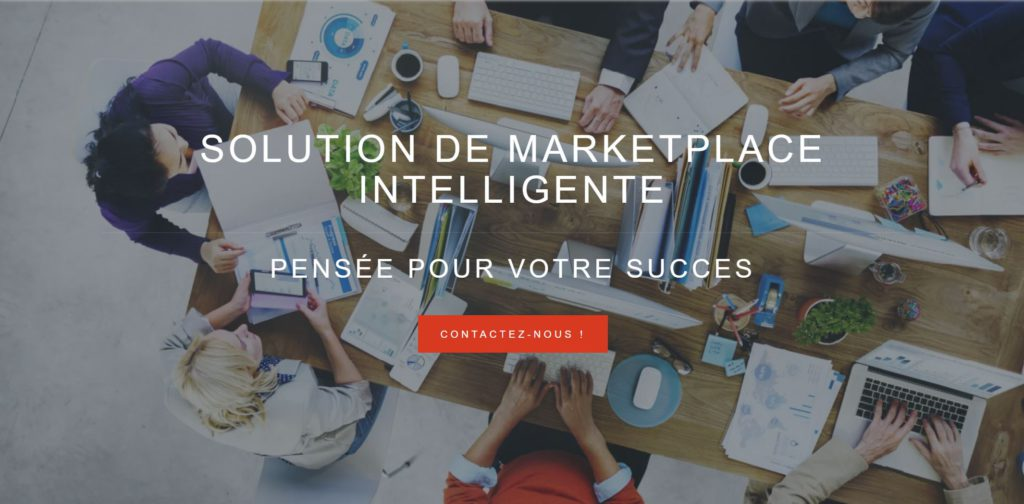 UFINDEER solution de marketplace intelligente