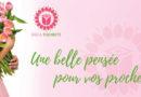 Conception personnalisée pour vos bouquets de fleurs !