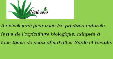 Ma boutique Beauté Santé Bio Nathabio