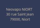 Neovapo, le spécialiste de l'e-cigarette ouvre une nouvelle boutique à Niort !