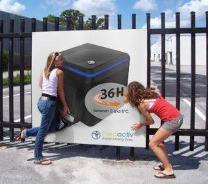 iCool MediCube : 36 heures d'autonomie entre 2 à 8°C