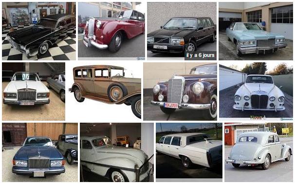 Location de limousines Classiques et Oldtimer