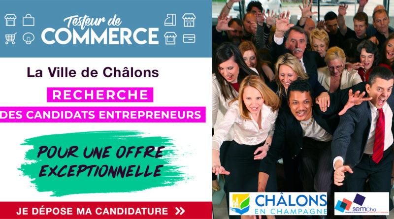 Lancement du Testeur de Commerce à Châlons-en-Champagne : appel à candidature !