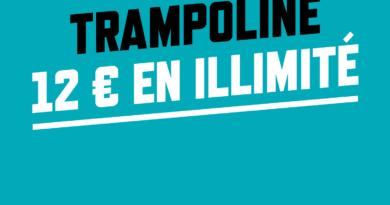 Trampoline parc à Mulhouse, l'expérience Big Little !