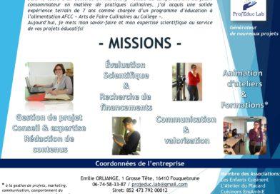 Proj'Educ Lab: générateur de nouveaux projets éducatifs