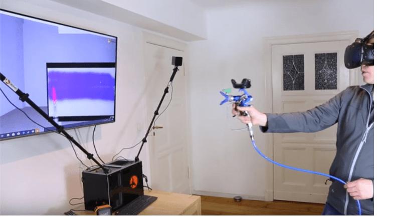 Voici le simulateur virtuel de pulvérisation de peinture Chroma