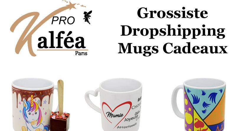 Grossiste dropshipping de mugs cadeaux