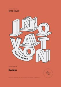 Le site internet de Socalu sur CSS Design Awards. Le site web a été créé par l'agence Mars Rouge, fondée à Mulhouse par Julien Di Giusto.