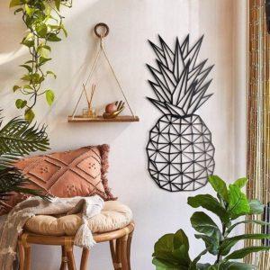 Décoration murale ananas